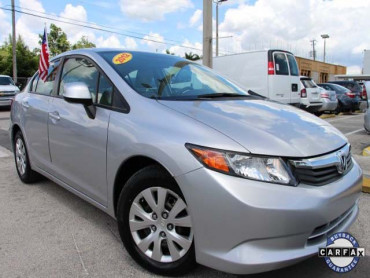 2012 Honda Civic 4D Sedan - 021262 - Image 1